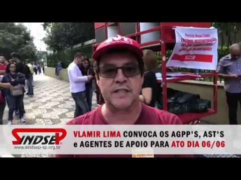 Vlamir Lima fala sobre a situação dos trabalhadores do Nível Básico e Nível Médio