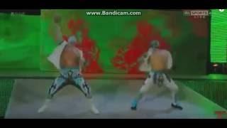 WWE KALİSTO VE SİN CARA ADANA MERKEZ #2