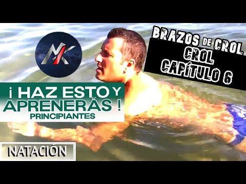 APRENDER A NADAR 1x05 (3/4): Brazada de Crol