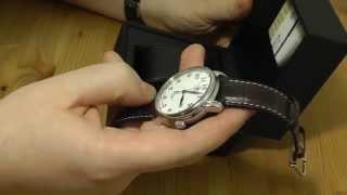 Junkers 7656-4 Zeppelin LZ127 Automatic Watch Armbanduhr Clock
