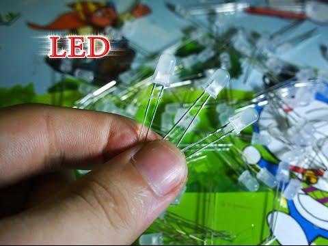 Chế dàn đèn LED 12v siêu sáng và có thể điều chỉnh độ sáng (KHÔNG DÙNG ĐIỆN TRỞ)