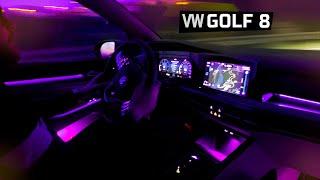MAGNIFIQUE INTÉRIEUR ! VW GOLF 8 ENFIN De La COULEUR 🌈