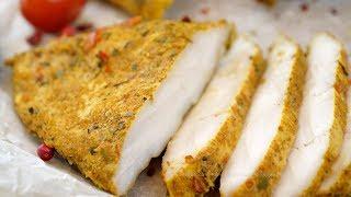 Сочное куриное филе, томленое в молоке, 2 в 1 - горячее блюдо и холодная закуска!