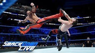 Styles, Orton & Nakamura vs. Mahal, Owens & Zayn: SmackDown LIVE, Dec. 19, 2017