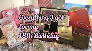 What I Got For My 18th Birthday♡Leisa Marie Gomugda(Philippines)
