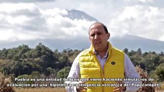 Fernando Manzanilla – Rutas de Evacuación Popocatépetl