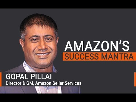 Amazon's Gopal Pillai on what drove e-tailer's success in India