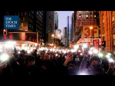 800,000 Hong Kongers Fight On After 6 Months of Protesting   | #香港大紀元新唐人聯合新聞頻道