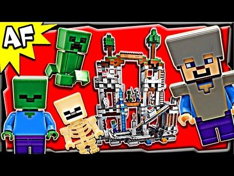 Vidéo LEGO Minecraft 21118 : La mine