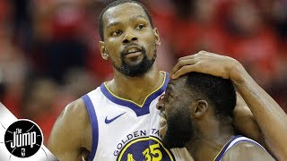 Will Durant & Draymond's on-court drama affect the Warriors? | The Jump