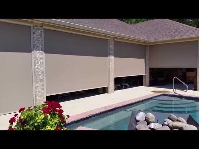 Automated Patio Shades in DeCordova TX 2