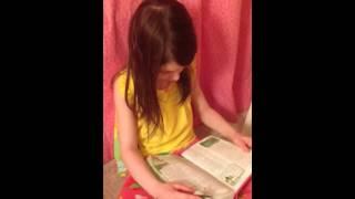 HEIDI reading Genesis 1:20-23