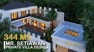 Video Desain Rumah Villa Bali 2 Lantai Bapak Setiawan di  Jimbaran, Badung, Bali