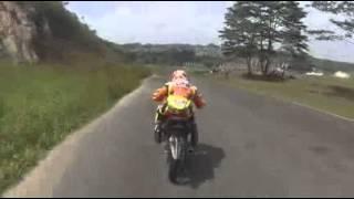 preview picture of video 'Porprov Samarinda Cabor Balap Motor, Tri Agung dan Muhammad Heldar di Sirkuit Kalan (free practice)'
