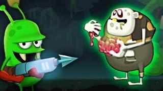ОХОТА НА ЗОМБИ встретил РАДИОАКТИВНОГО ЗОМБАРЯ Мульт игра для детей Zombie Catchers