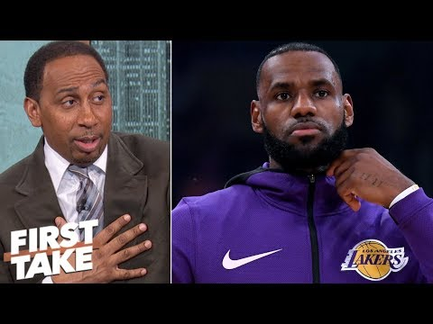 LeBron doesn   t want to blame if Luke Walton gets fired 2018 Stephen A First Take USA