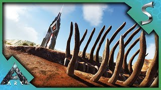 CROSSING THE WASTELANDS TO MOVE TO THE DESERT BIOME! NEW BASE! - Ark: Extinction [DLC Gameplay E6]