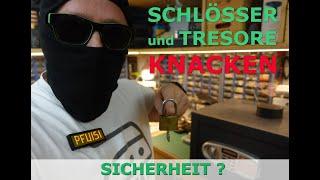 Einbruch ohne Spuren - Schloss und Tresor knacken - Klammer, Dietrich, Raken & Co - So wirds gemacht