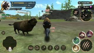 The Wolf 🐺 игра Побеждаем Тура чемпиона Auroch Champion game мультфильмы онлайн мультики для детей