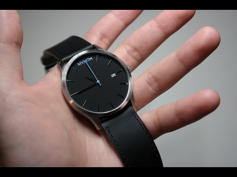 MVMT Black/Silver Watch Unboxing and Review