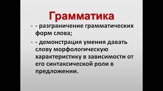 Телешкола / Русский язык / Вопросы словообразования и грамматики в заданиях мун. этапа ВсОШ