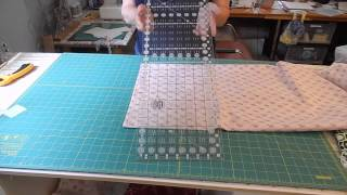 Quilting - How To Prepare Backing