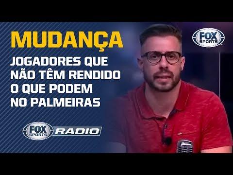 MUDANÇA RADICAL? Facincani aponta jogadores que deveria perder 'vaga' no time titular do Palmeiras