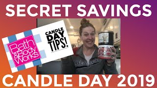 Secret To Saving Big On Candle Day 2019!-Bath And Body Works Candle Day 2019-Gina Schweppe