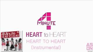 4MINUTE - HEART TO HEART (Instrumental).