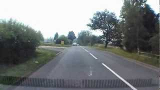 preview picture of video 'Olympic Cycle Route out of Leatherhead (A245) the day before the race (27th July 2012)'