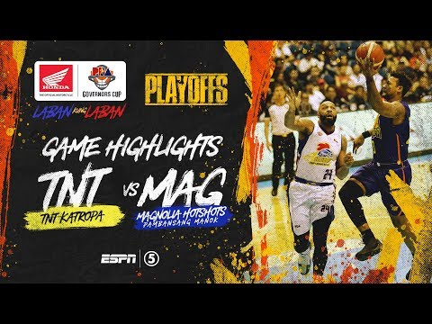 [Sport5]  Highlights: TNT vs Magnolia | PBA Governors' Cup 2019 Quarterfinals