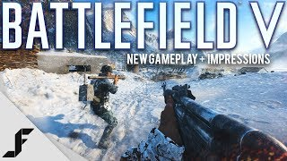 Battlefield 5 New Gameplay and Impressions
