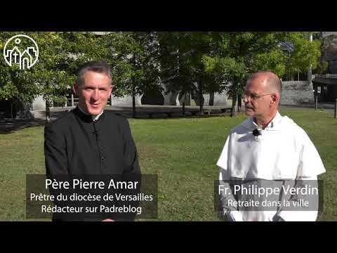 Fr. Philippe Verdin avec le père Amar