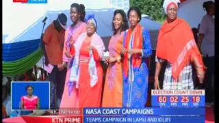 NASA starts its Coastal tour with Raila Odinga campaigning in Kilifi and Mudavadi in Lamu