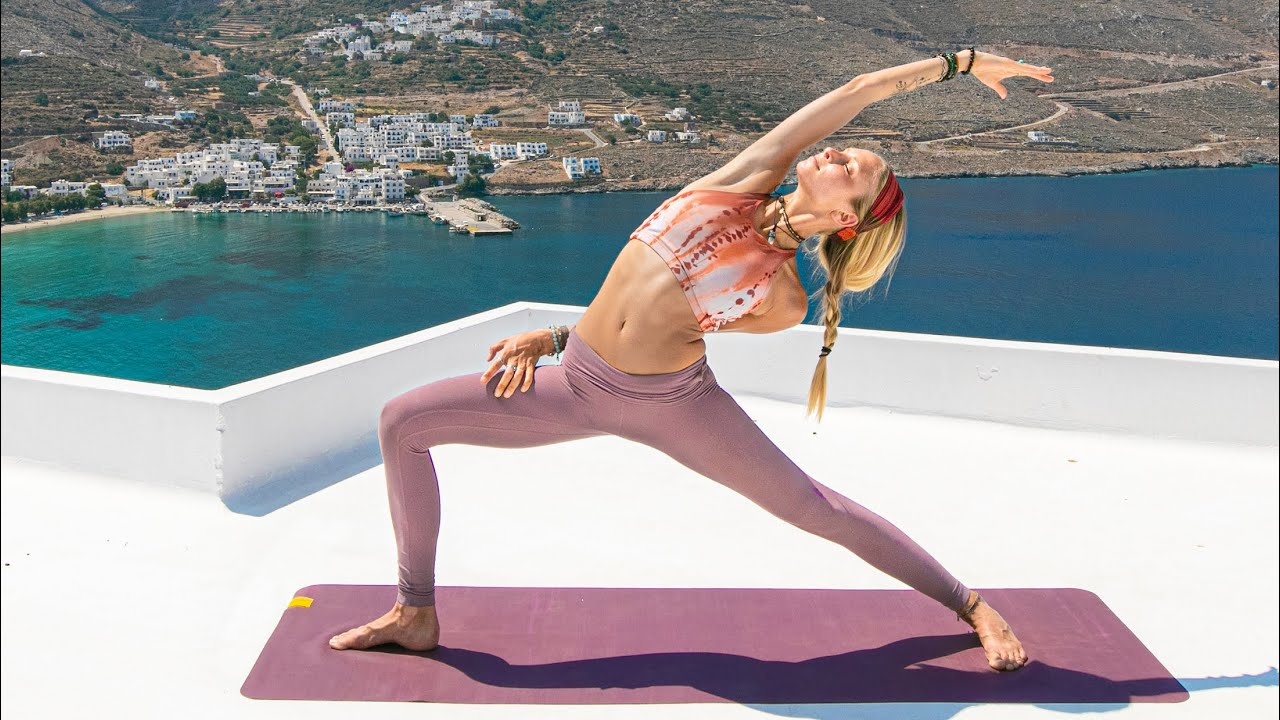 Total Body Yoga Flow Morning Yoga Class Awaken
