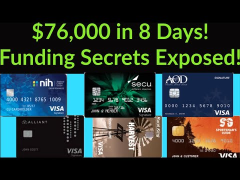Major Game Changer! $76,000 in 8 days! Credit Funding Secrets - The Credit Union Advantage Exposed!