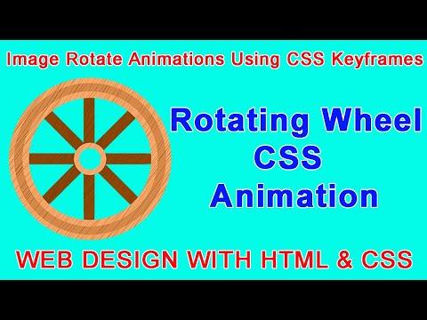 Image Rotate Animations using CSS Keyframes   CSS Rotate Animation   CSS Animation   Web Seekho