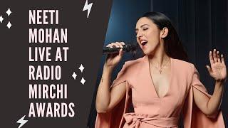 Neeti Mohan Live at Radio Mirchi awards