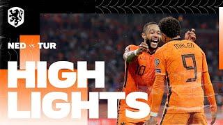 Netherlands 6-1 Turkey Pekan 6