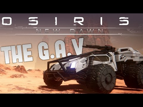 Osiris New Dawn - Building the G.A.V - LOST IN A CAVE! - Osiris New Dawn Gameplay Part 5
