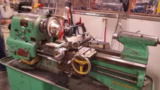 Clausing Colchester Engine Lathe, 15 x 36