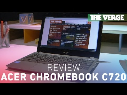 "Acer 11.6"" Chromebook C720 (Intel 1.4 GHz, 2GB Memory, 16GB SSD) - Gold"