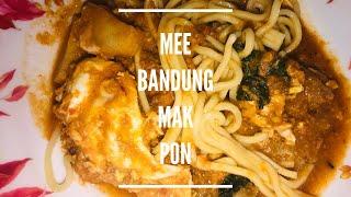 Resepi Mee Bandung Mak Pon