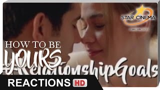 Reactions | Anj and Niño are the new #RelationshipGoals! | 'How To Be Yours'