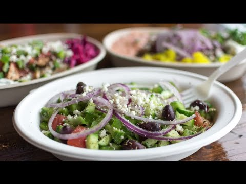Estia Greek Street Food offering health options for Mediterranean Diet Month