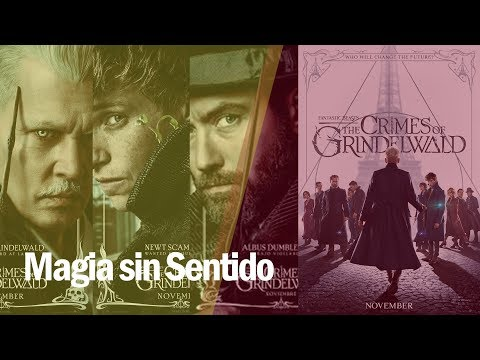 #CineMúsicaYAlgoMás   Animales fantásticos: Los crímenes de Grindelwald