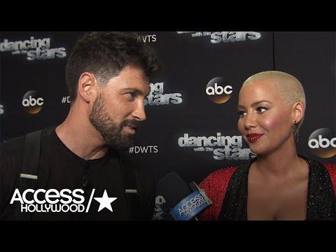 Amber Rose & Maksim Chmerkovskiy On Their 'Dancing' Season 23 Exit | Access Hollywood