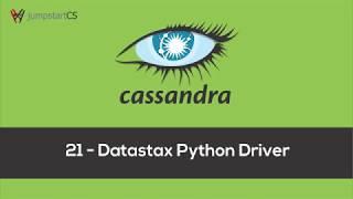 Apache Cassandra - Tutorial 21 - Datastax Python Driver