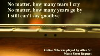 I Still Can't Say Goodbye Chet Atkins (Guitar solo version) played by Allen Sit