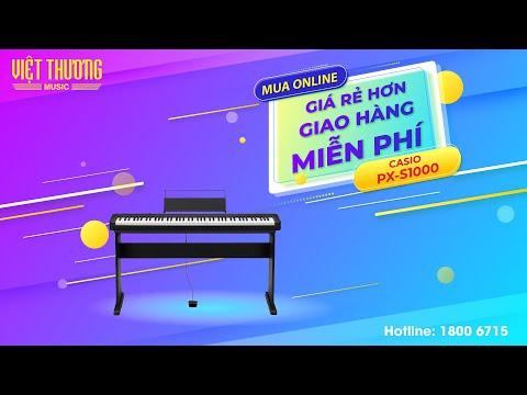 Piano điện Casio PX-S1000 chỉ còn 17.200.000đ (áp dụng đến 31/7/2021)